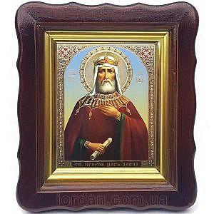 Давид царь и пророк Тиль 10х12
