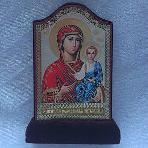 Арка флок на подставке Смоленская (Одигитрия)