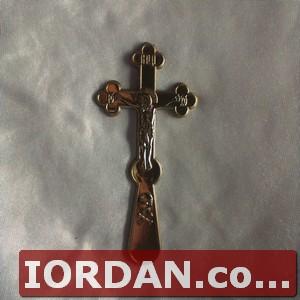 Крест погребальный позолота