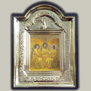 Икона c подставкой св. Троица