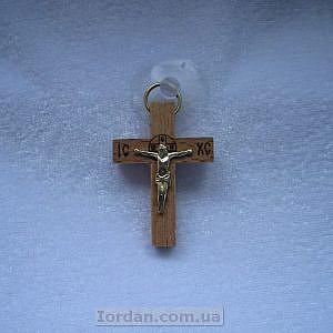 Крест в авто на присоске прямой