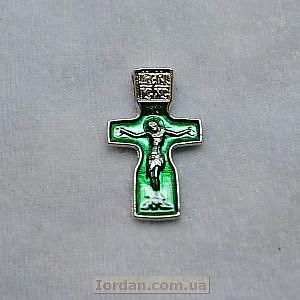 Крест Феодоровский эмаль