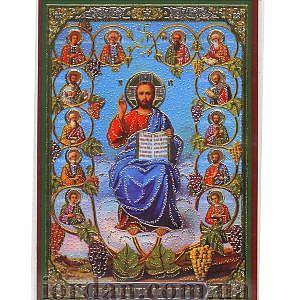 Двенадцать апостолов ламин 6*9