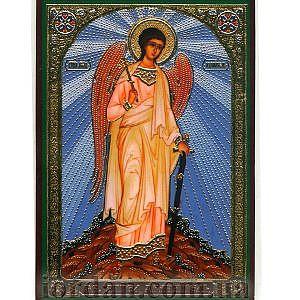 Ангел хранитель ростовой ламин 6*9