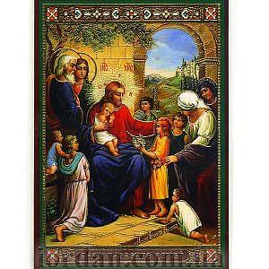 Благословение детей ламин 6*9