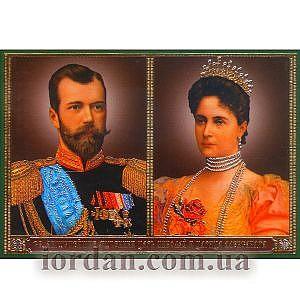 Николай царь и царица ламин 6*9