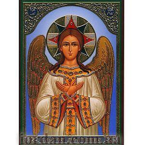 Спас Благое молчание (Ангел Великого Совета), ламин 6*9