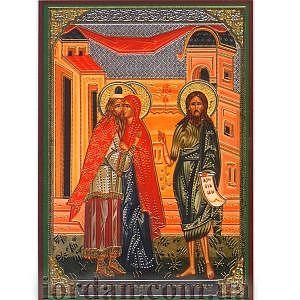 Зачатие Иоанна Предтечи ламин 6*9