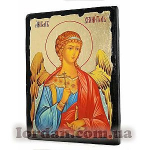 Ангел Хранитель Черное Золото 17х23
