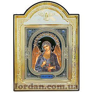 Ангел лик Узор Рамка Голубь 10х12