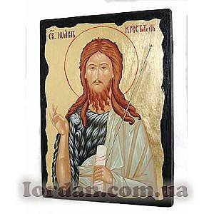 Иоанн Креститель Черное Золото 17х23