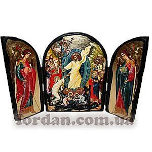 Воскресение Христово Арка Золото 17х23