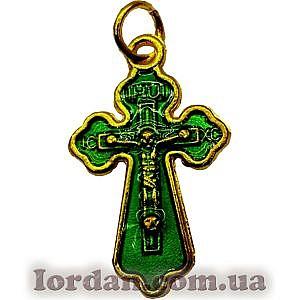 Крест металл фигурный эмаль