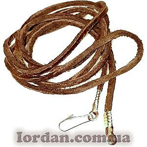 Шнур кожаный с застежкой