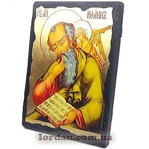 Иоанн Богослов Черное Золото 17х23