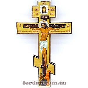 Крест настенный большой прямой