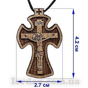 Крест кипарисовый бол. овал