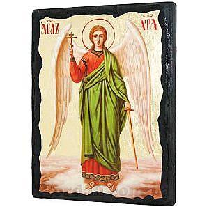 Ангел ростовой Черное Золото 17х23