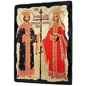 Константин и Елена Черное Золото 17х23
