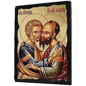 Петр и Павел Черное Золото 17х23