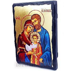 Святое семейство Черное Золото 17х23