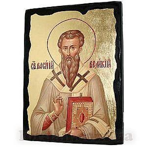 Василий Великий Черное Золото 17х23