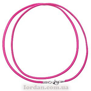 Шнур Элит 60 см, 10 шт в уп. Розовый