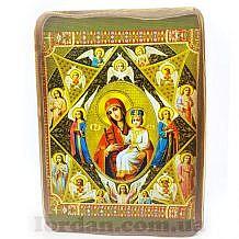 Холст на доске Богородичные 17х23