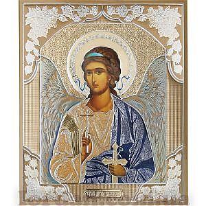 Софрино Ангел Хранитель Литография 15х18