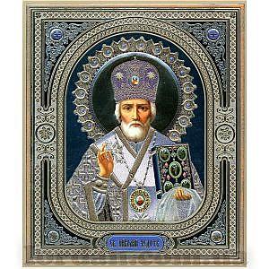 Узор Николай Литография 15х18