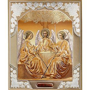 Троица Софрино желт Литография 15х18