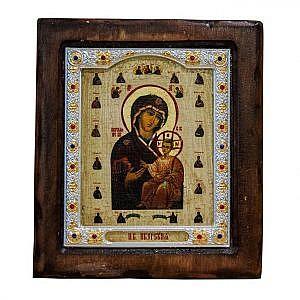 Иверская П.Б. Риза Византия 17х20